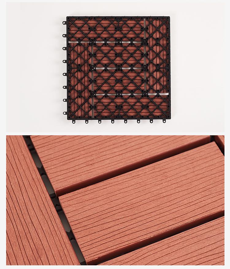 Thiết kế kỹ thuật mặt sau của sàn gỗ