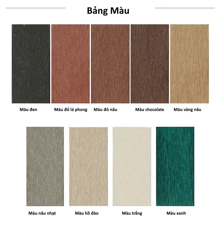 Bảng màu sàn gỗ GA01-B