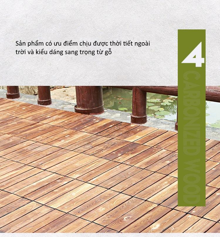Ưu điểm 4 của sàn gỗ nhựa GA02